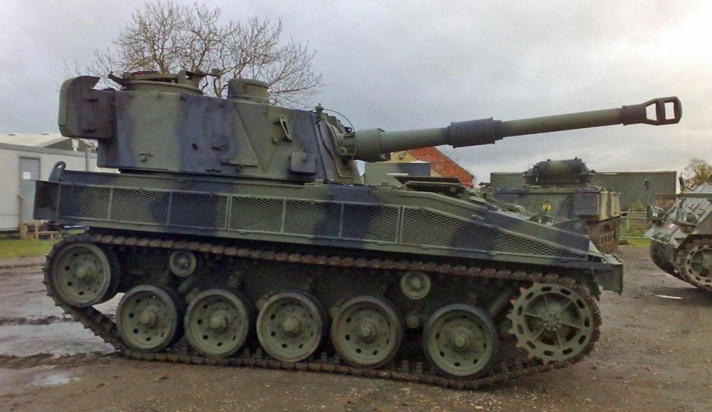 FV433 «Abbot». САУ. (Англия)
