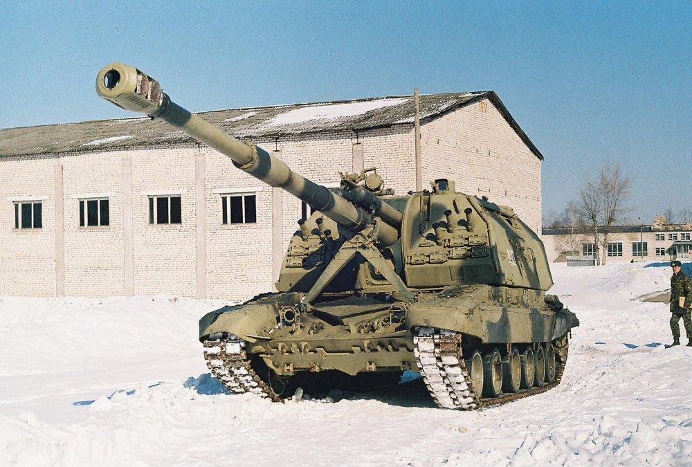 2С19 «Мста-С». САУ. (СССР-Россия)