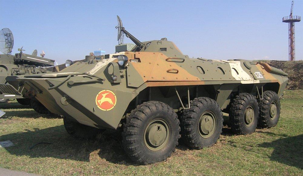БТР-70. БТР. (СССР-Россия)