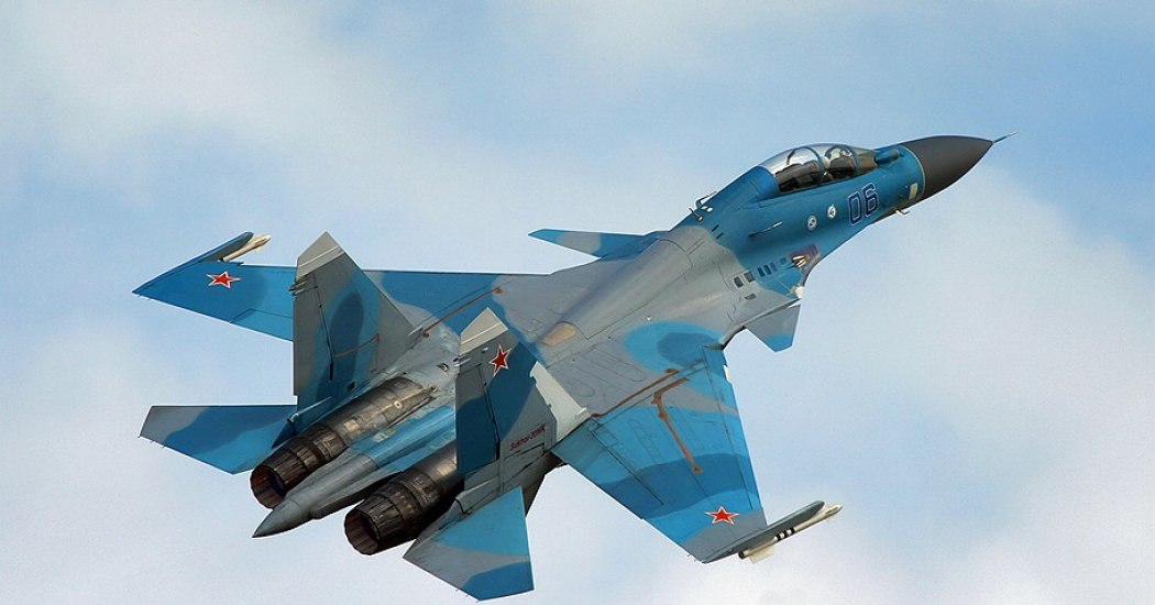 Су-30. Многоцелевой истребитель. (СССР-Россия)