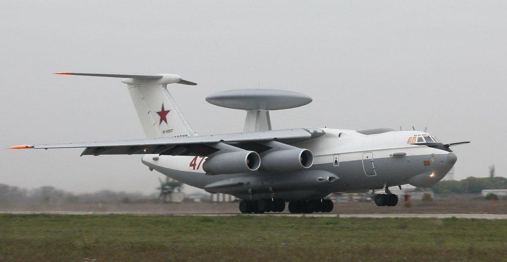 А-50. Самолет ДЛРО. (СССР-Россия)