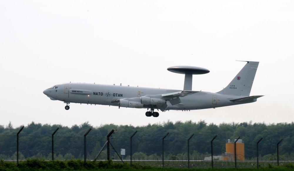 Boeing E-3 Sentry. Самолет ДЛРО. (США)