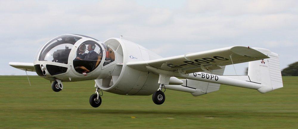 Edgley Optica. Самолет воздушного наблюдения. (Англия)