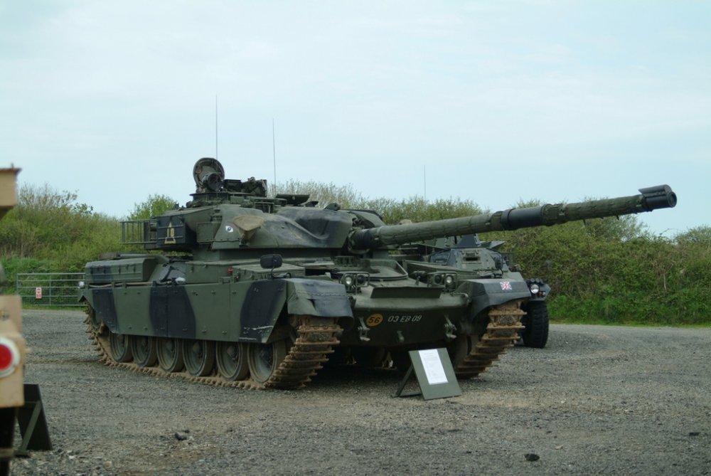 Chieftain. Основной Боевой танк. (Англия)