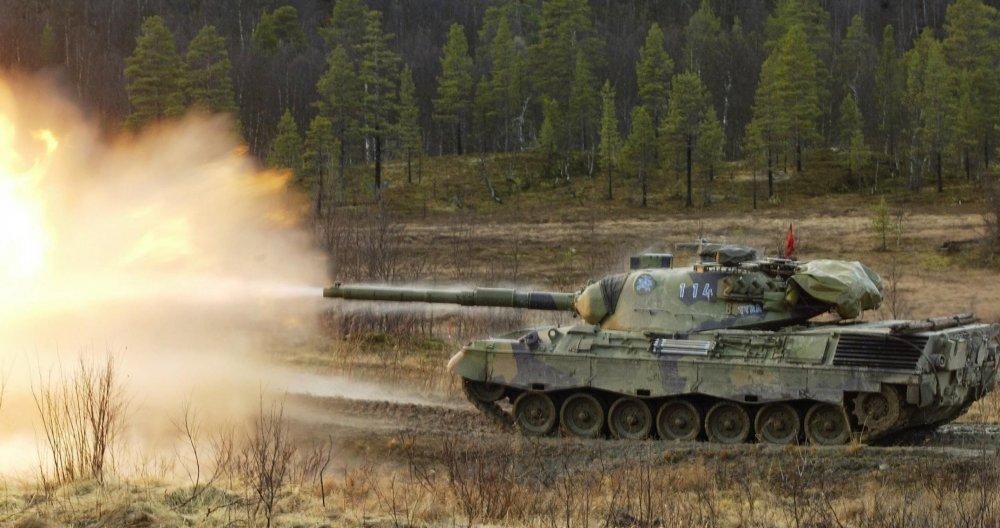 Leopard-1. Основной боевой танк. (Германия)
