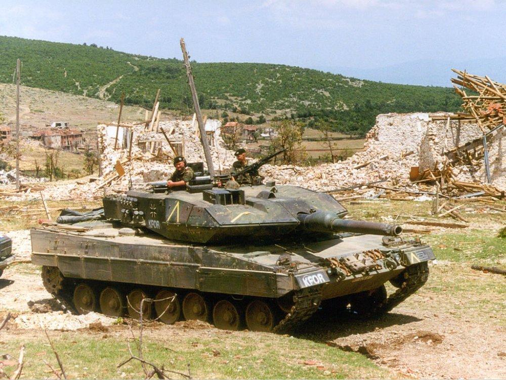 Leopard 2. Основной боевой танк. (Германия)