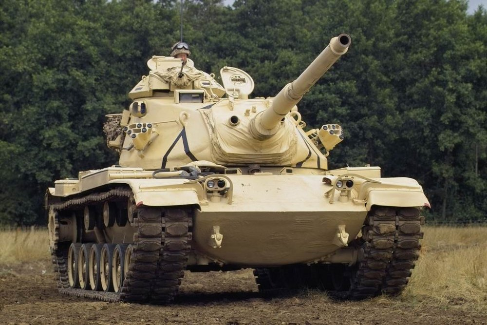 М60. Средний танк. (США)