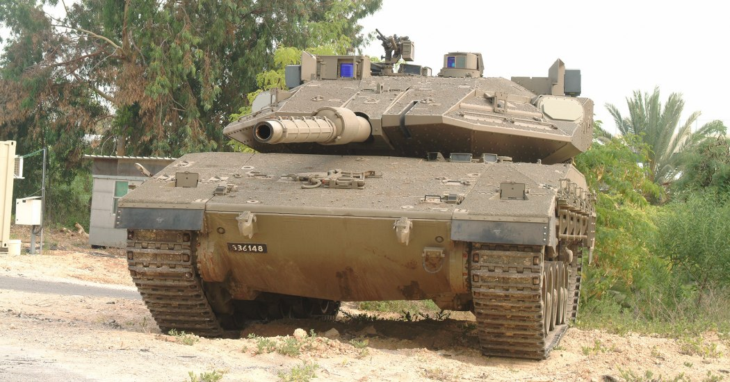 Меркава Mk.4. Основной боевой танк. (Израиль)