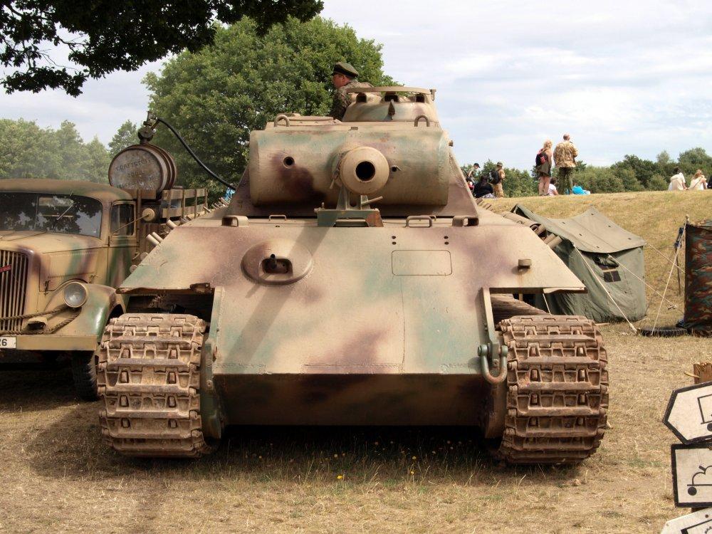 PzKpfw V «Panther». Средний танк. (Германия)