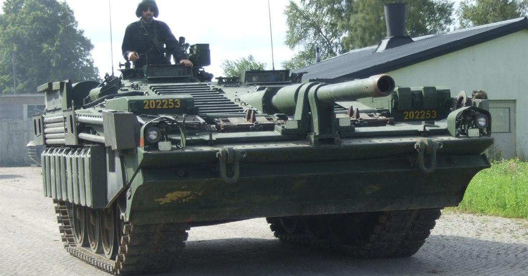 Strv 103. Основной боевой танк. (Швеция)