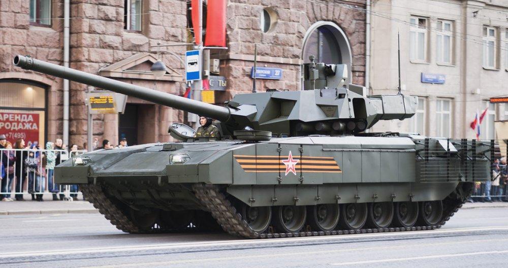 """Т-14 """"Армата"""". Основной боевой танк. (Россия)"""