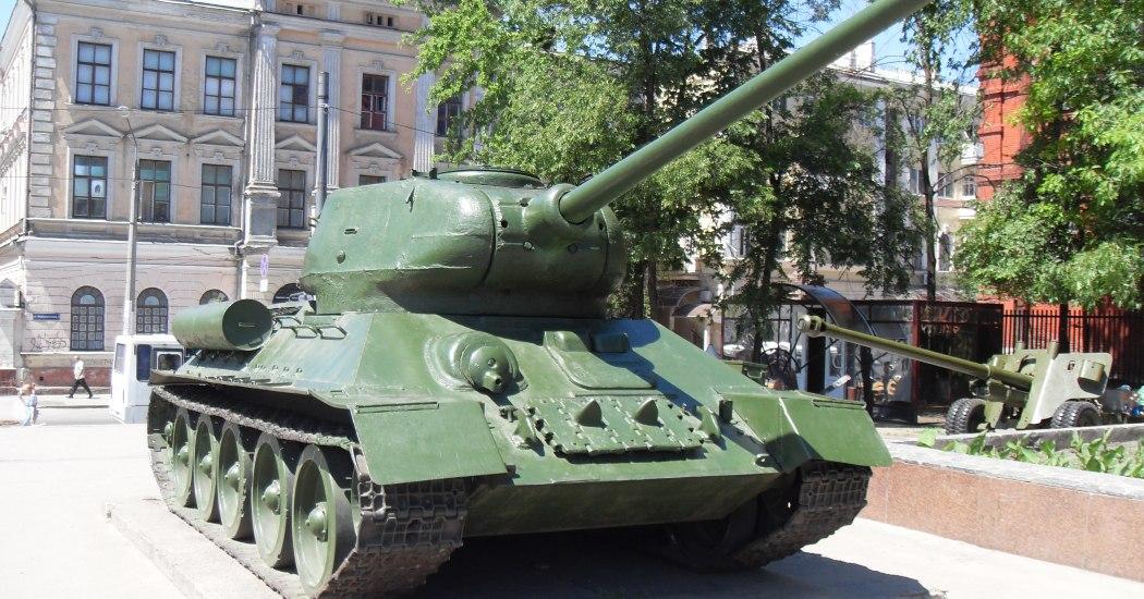 T-34-85. Средний танк. (СССР)