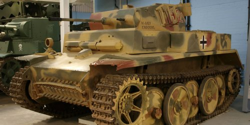 «Luchs». Легкий танк. (Германия).