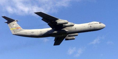 Lockheed C-141 Starlifter. Транспортный самолет. (США)