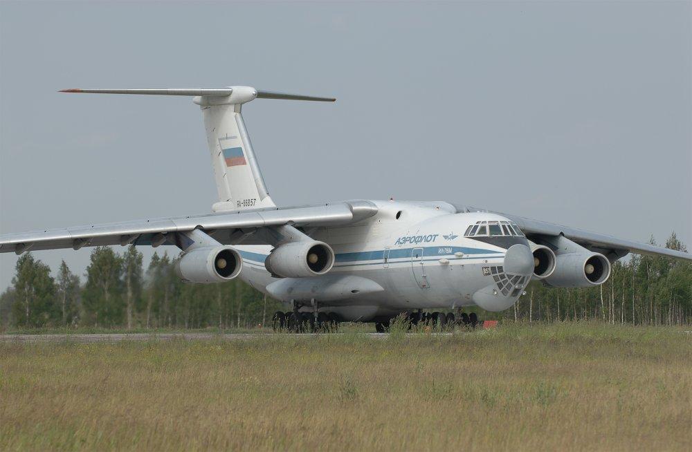 Ил-76. Транспортный самолет. (СССР-Россия)