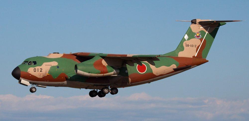 Kawasaki C-1. Военно-транспортный самолет. (Япония)