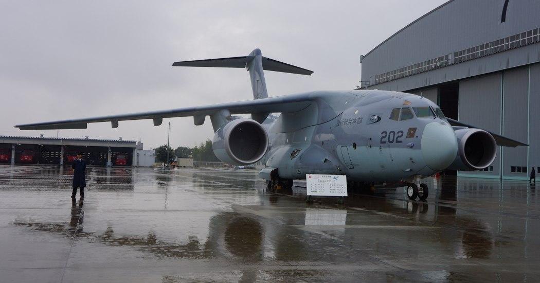 Kawasaki C-2. Транспортный самолет. (Япония)