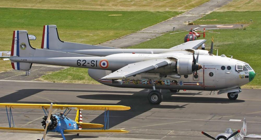 Nord Noratlas. Транспортный самолет. (Франция)