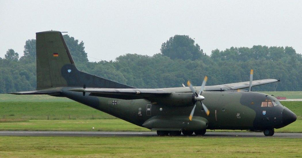 Transport Allianz C.160 Transall. Транспортный самолет. (Франция-Германия)