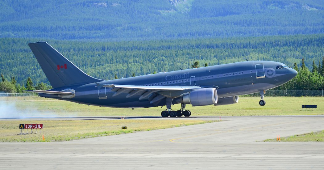 Airbus CC-150 Polaris. Транспортный самолет. (ЕС-Канада)
