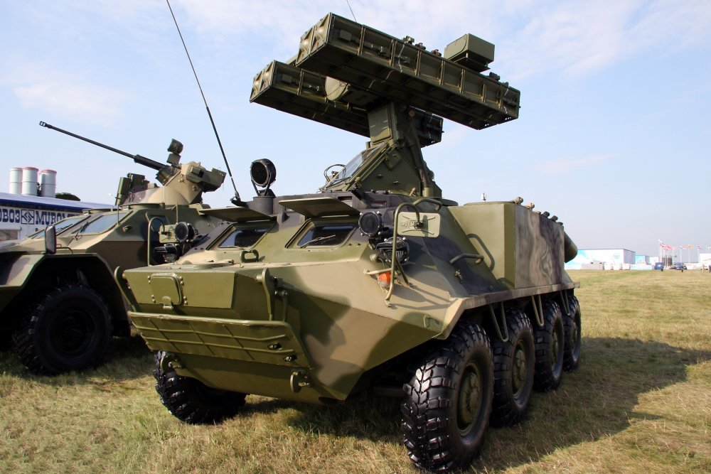 Вариант «Стрела-10М3-К» на базе БТР-60.