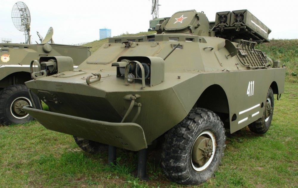 9К31 «Стрела-1». ЗРК. (СССР)