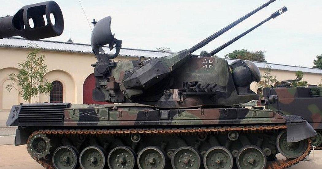 Gepard. ЗСУ. (Германия)