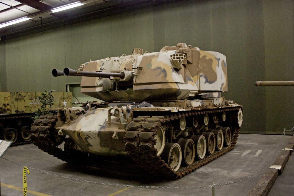 M247 «Sergeant York». ЗСУ. (США)