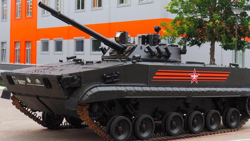 "БМП-3 - основа для боевого робота ""Удар""."