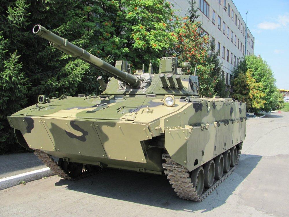 Боевую машину десанта БМД-4М приняли на вооружение пять лет назад