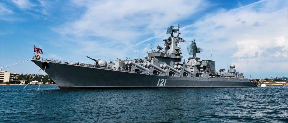 """Крейсер """"Москва"""" применил ракету """"Вулкан"""" в Черном море"""