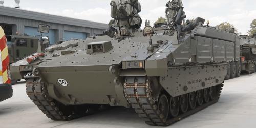 Новая модификация британской БМП Ajax оглушила испытателей