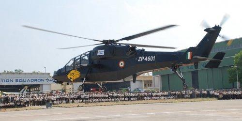 Вертолеты LCH поддержат Ми-35 в войне против террористов в Африке