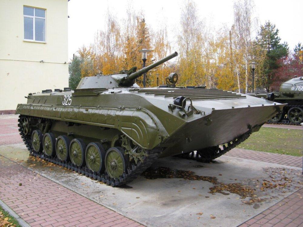БМП-1 приняли на вооружение 55 лет назад