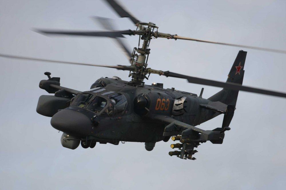 Вертолет Ка-52М получил новый комплекс управляемого оружия
