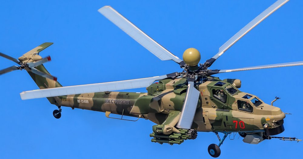ВКС получат новую партию вертолетов Ми-28НМ