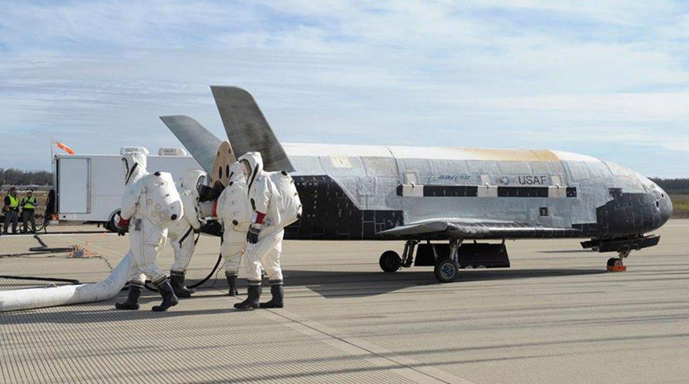 Космолеты США могут нести ядерное оружие