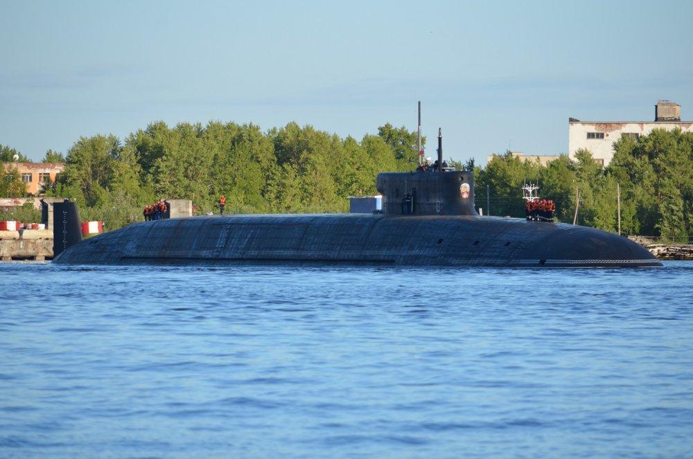 Россия вывела в море две новые атомные подлодки